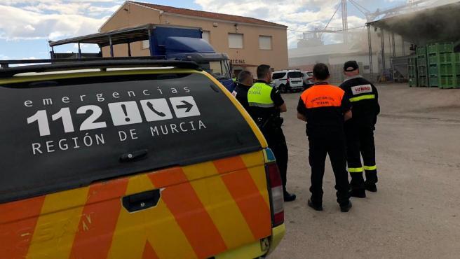 Servicios de emergencia de Murcia, en una foto de archivo.