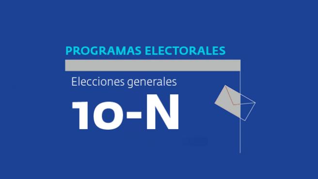Programas electorales 10N