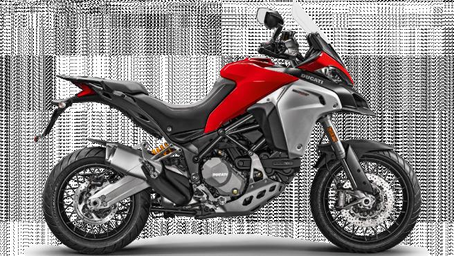 La Ducati Multistrada está disponible en varios modelos como la 950, 1260 y la 1200 Enduro.
