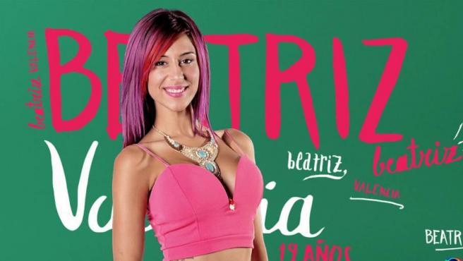 Beatriz Retamal, de 'Gran Hermano 17', en la foto oficial de su edición.