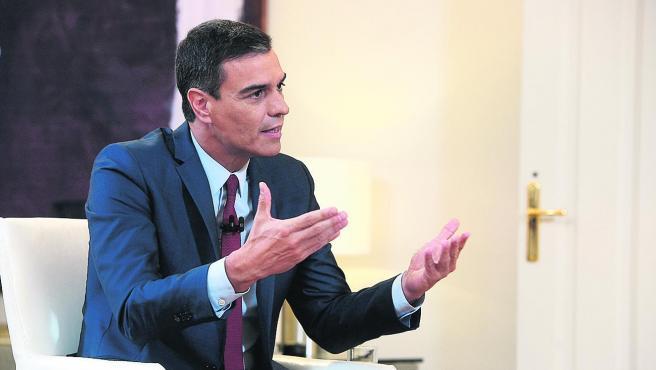 Entrevista con Pedro Sánchez, candidato del PSOE.