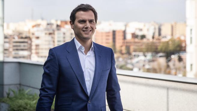 El candidato a la presidencia por Ciudadanos para el 10-N