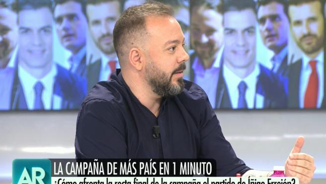 Antonio Mestre en 'El programa de Ana Rosa'.