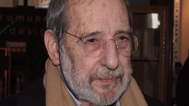 El arquitecto portugués Álvaro Siza Vieira, en 2012.