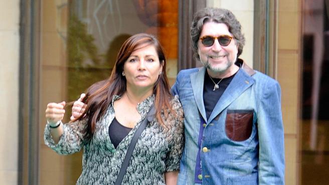 El cantante Joaquín Sabina y Jimena Coronado, en una imagen de archivo.