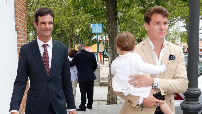 José Bono Jr. y su pareja, Aitor Gómez.