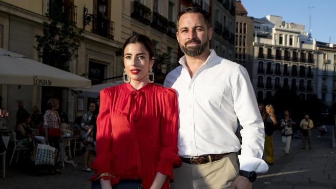 Santiago Abascal y Lidia Bedman.