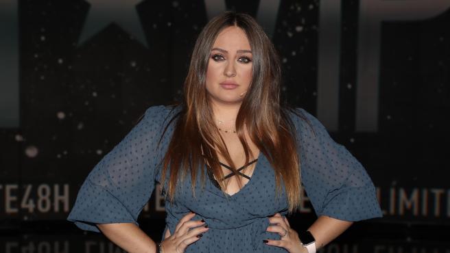 Rocío Flores Carrasco, en el plató de 'GH VIP 7', en octubre de 2019.
