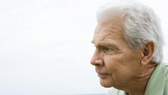 Imagen de una persona de avanzada edad.