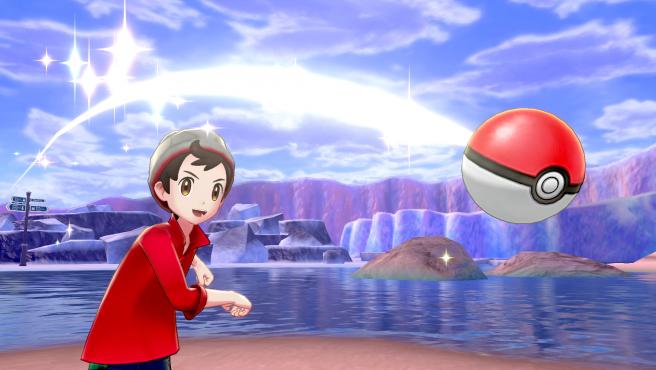 Imagen del entrenador de 'Pokémon Espada y Escudo'.
