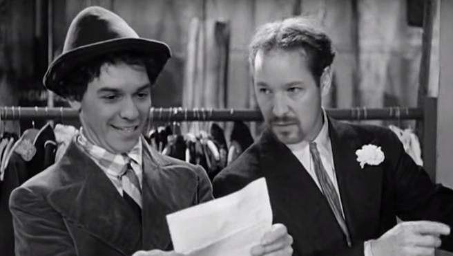 DeepFake 'Una noche en la Moncloa', con Iglesias como Groucho y Sánchez como Chico
