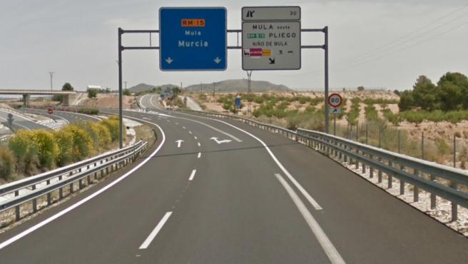 Imagen de la carretera RM-15, donde sucedieron los hechos.