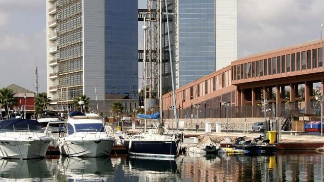 Imagen de archivo del puerto deportivo Noray, en Melilla.