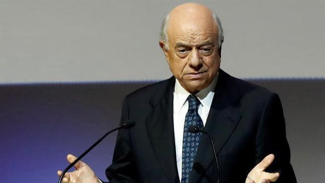 El expresidente del BBVA Francisco González, en Madrid, en noviembre de 2018.