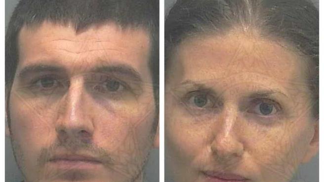 Ryan O'Leary y Sheila O'Leary, padres del niño fallecido.