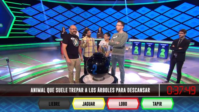 Los dispersos y Juanra Bonet, en '¡Boom!'.