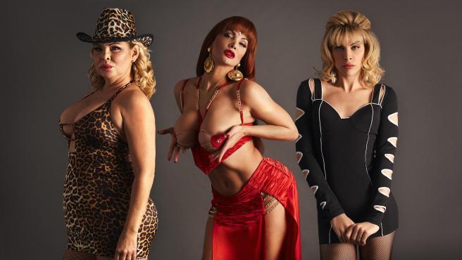 Isabel Torres, Daniela Santiago y Jedet, las actrices que darán vida a La Veneno en 'Veneno'.