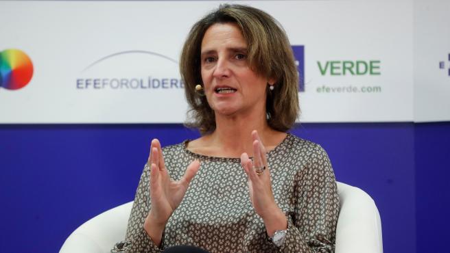 Ribera analiza en Foro Líderes la ##COP25 y los retos de la crisis climática.