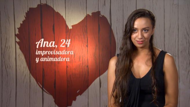 Ana, en 'First dates'.