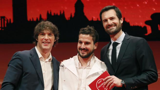 Jordi Cruz y Alberto Durá, del restaurante Angle (Barcelona), reconocido con dos estrellas Michelin.