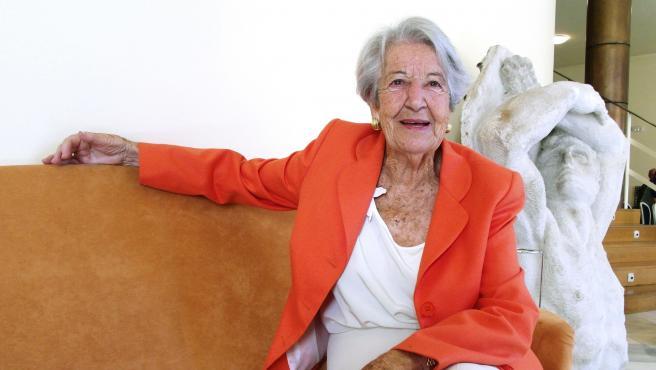 Imagen de archivo de la actriz Asunción Balaguer.