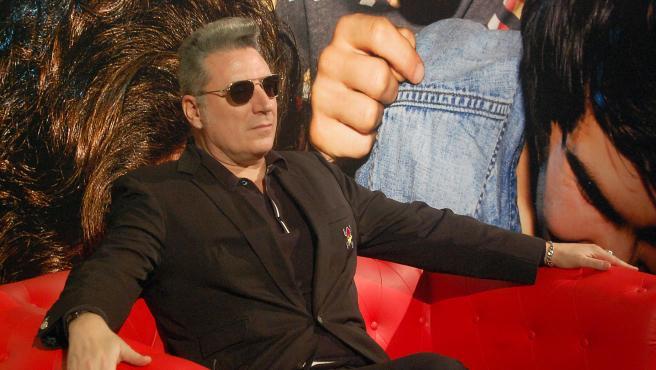 El cantante Loquillo, en una imagen de archivo.