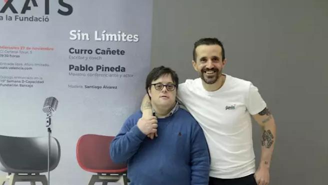 Pablo Pineda y Curro Cañete.