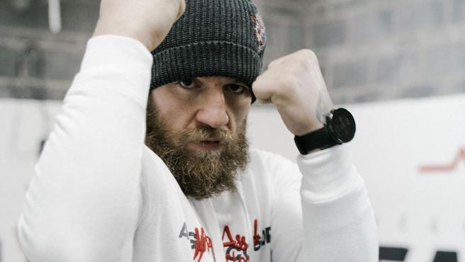 Conor McGregor, luchador de artes marciales mixtas.