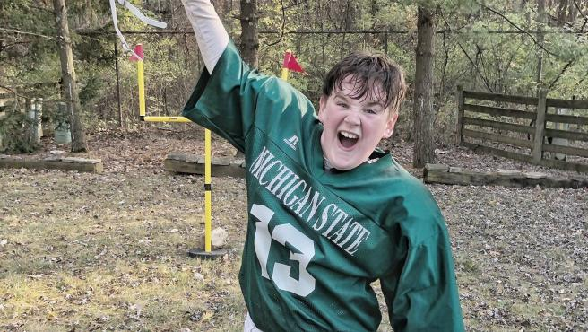 Fraser Hartnell, fan de Michigan State Spartans