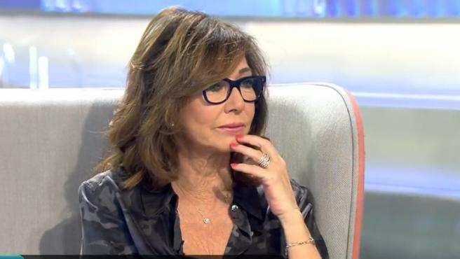 Ana Rosa Quintana, presentadora de televisión.