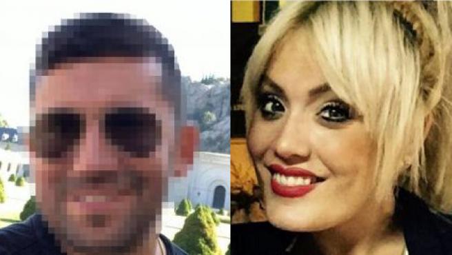 Jorge Ignacio Palma y Marta Calvo.