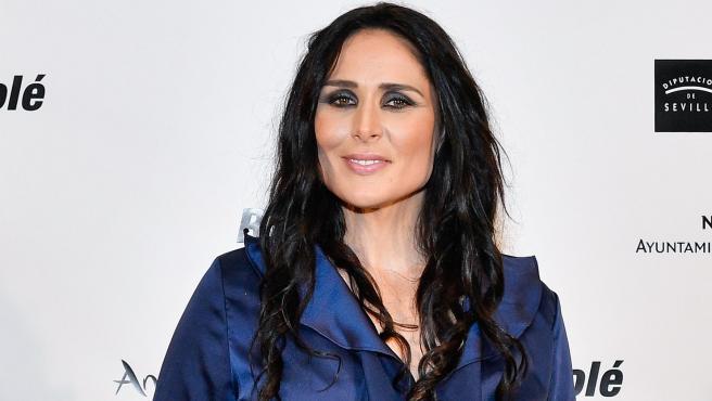La cantante Rosa López, en 2019.