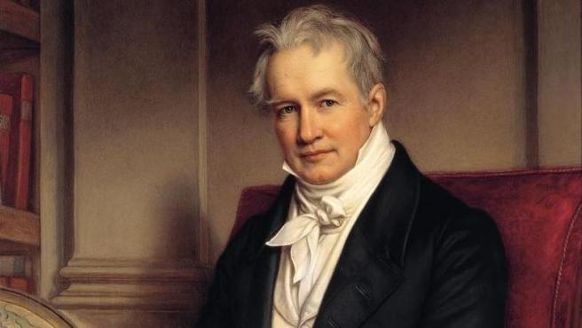 Retrato de Alexander von Humboldt.