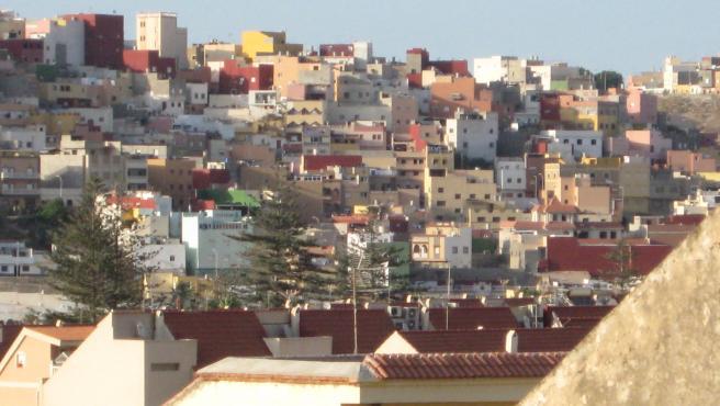 Imagen de archivo del barrio de la Cañada de Hidum en Melilla.