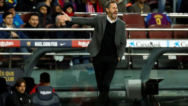 Vicente Moreno, entrenador del Real Mallorca