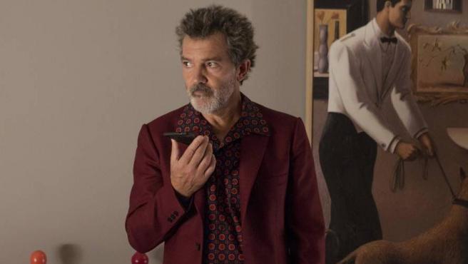 Antonio Banderas, en un fotograma de la película 'Dolor y gloria', dirigida por Pedro Almodóvar.