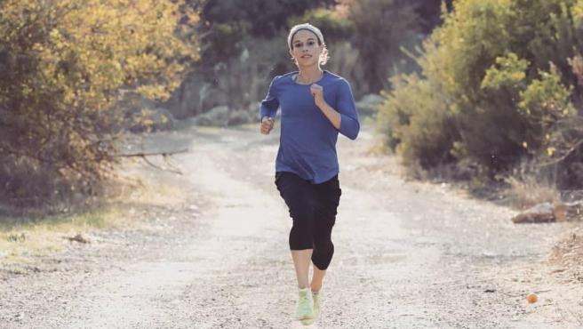 La corredora israelí Beatie Deutsch, que ve peligrar su presencia en Tokio 2020.
