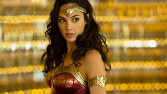 La actriz Gal Gadot, en una imagen promocional de 'Wonder Woman 1984'.