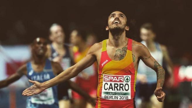 El atleta Fernando Carro