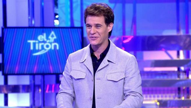 El presentador Christian Gálvez en 'El Tirón'.