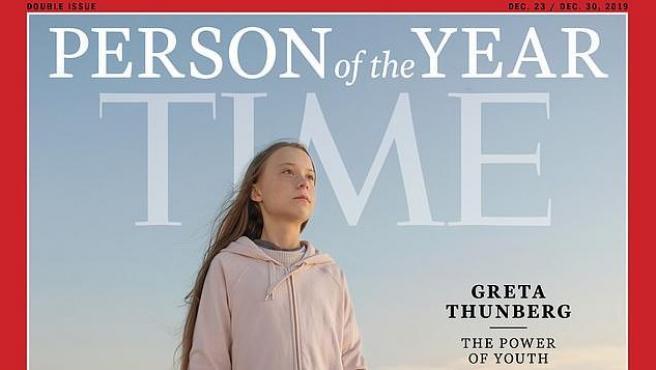 Portada de 'Time' con Greta Thunberg como Persona del Año.