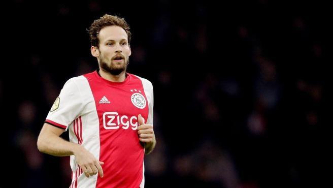 Daley Blind, defensa del Ajax.