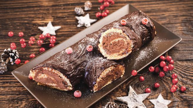 "Tronco de Navidad ""Bûche de Noël"""