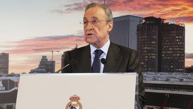 Florentino Pérez, en el discurso de Navidad.