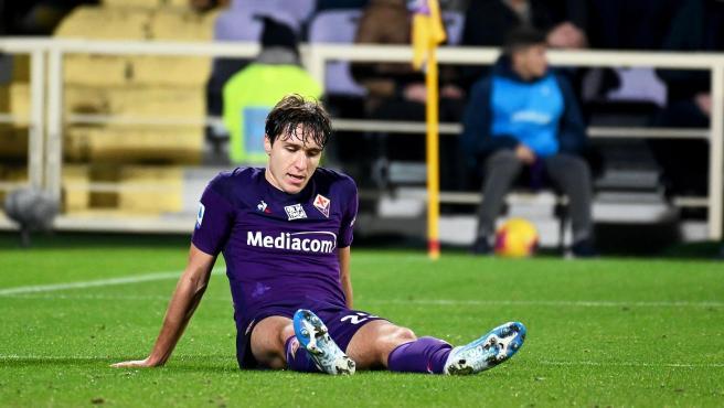 Federico Chiesa, jugador de la Fiorentina.