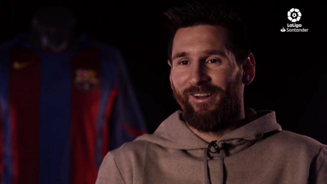 Entrevista de Messi en LaLiga