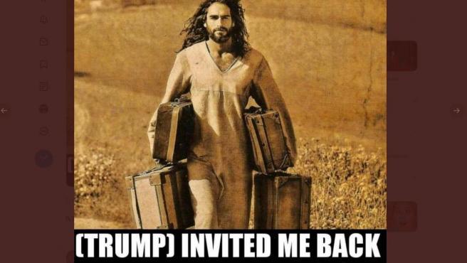 Meme reuiteado por Donald Trump.