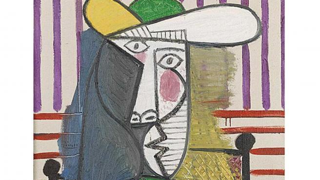 Busto de una mujer, de Pablo Picasso