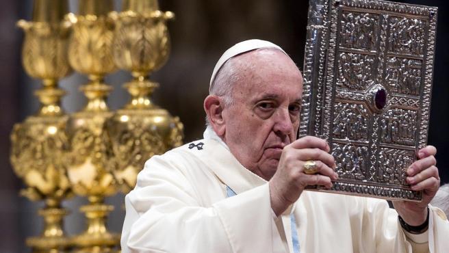 El papa Francisco en la misa de Año Nuevo