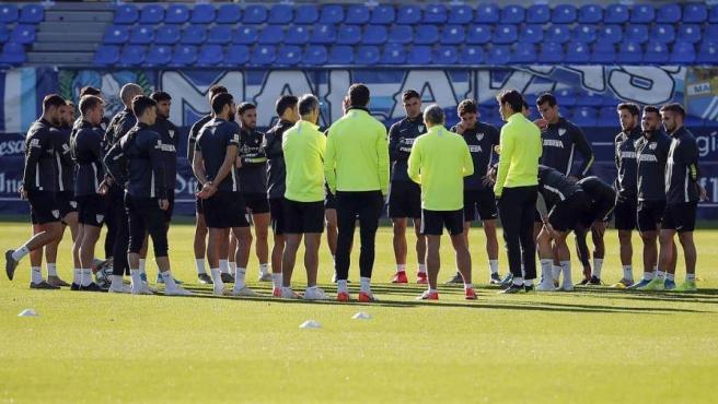 Jugadores Málaga